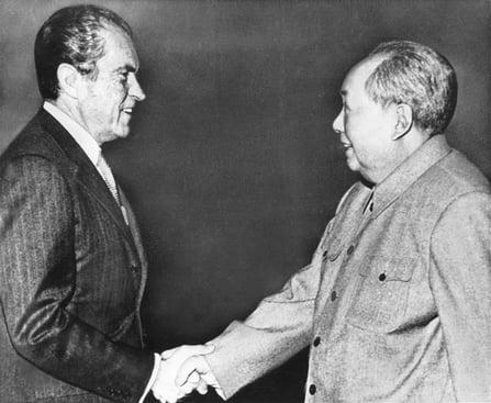 2. Nixon goes to China