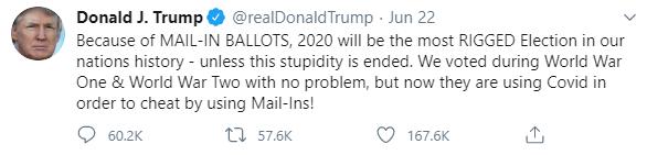 6. Trump tweet